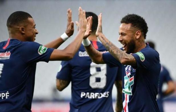 Coupe de France - Le Paris Saint-Germain remporte sa 13e Coupe de France mais perd Kylian Mbappé