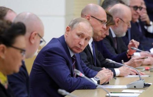 Charles Michel et Vladimir Poutine espèrent tous deux un cessez-le-feu