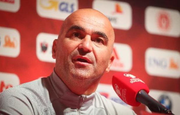 """Roberto Martinez espère que le retour du public """"sera un avantage"""" pour les Diables Rouges contre la Tchéquie"""
