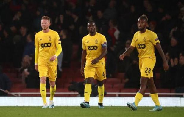 Europa League - Le Standard a été surclassé par les jeunes d'Arsenal