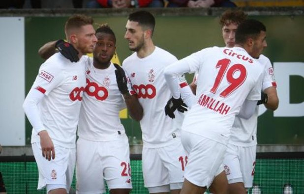 Europa League - Standard vecht voor waterkansje op kwalificatie tegen Arsenal, Gent gaat voor groepswinst