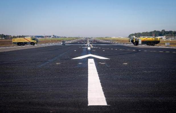 La piste allongée de l'aéroport de Charleroi officiellement inaugurée