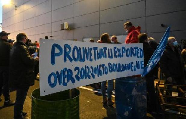 Franse vissers ergeren zich aan Groot-Brittannië na brexit