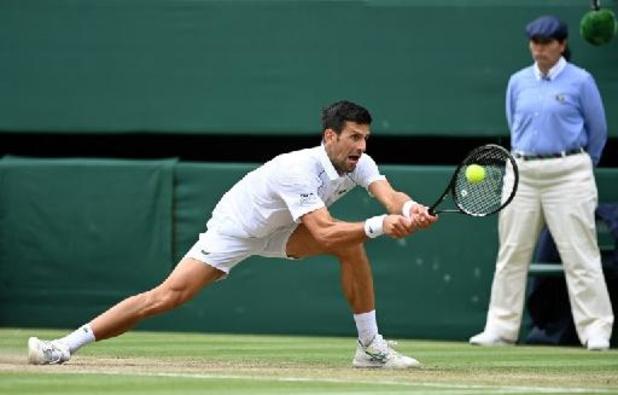 Centième victoire sur gazon pour Djokovic en demi-finales pour la 10e fois à Londres
