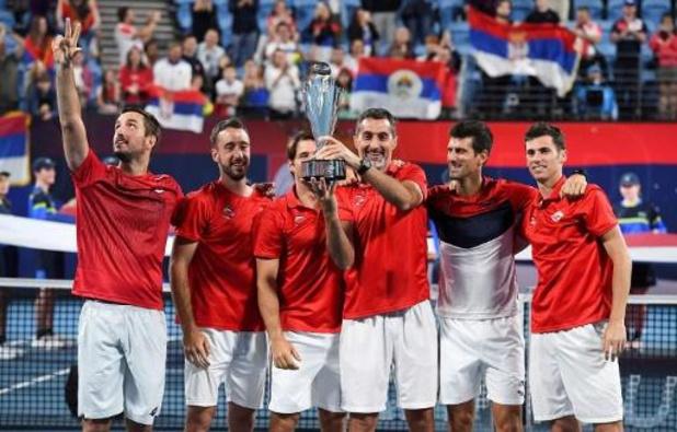 ATP Cup: La Serbie, tenante du titre, opposée à l'Allemagne et le Canada