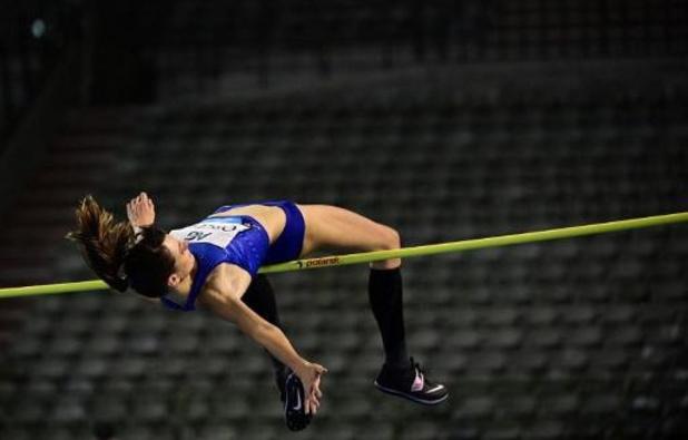 Memorial Van Damme - Nicola McDermott wint hoogspringcompetitie, Claire Orcel 4e