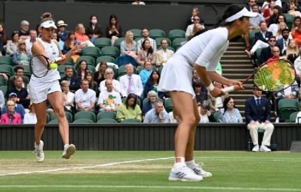 Wimbledon - Elise Mertens, avec Hsieh, remporte son troisième Grand Chelem après un match fou