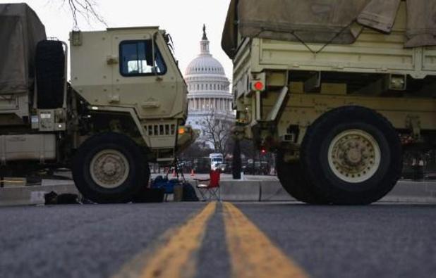 Inauguratie Biden - Biden en Harris leggen eed af onder extreme veiligheidsmaatregelen