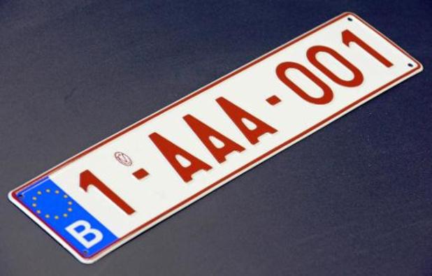 Nieuwe nummerplaten zullen pas komende lente met indexcijfer '2' beginnen