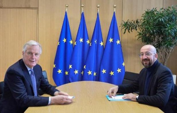 Europese hoofdonderhandelaar Michel Barnier besmet met het coronavirus