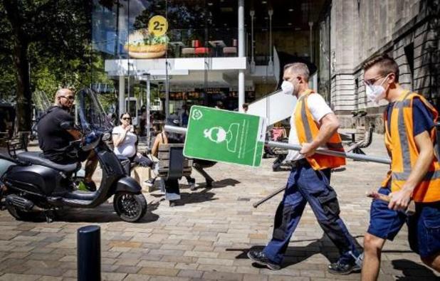 Grootste dagtoename besmettingen sinds april in Nederland