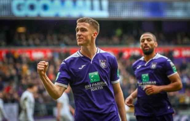 Anderlecht houdt drie punten thuis tegen rode lantaarn Cercle Brugge