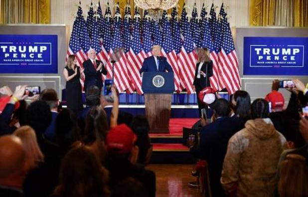 """Campagneleidster Biden hekelt """"schandelijke"""" uitspraken van Trump"""