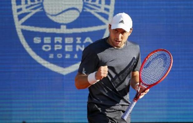 ATP Belgrade - Novak Djokovic battu par Aslan Karatsev au terme d'un match homérique