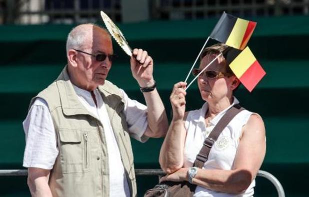 Le soleil campe sur les contrées belges pour la fête nationale et les jours à venir