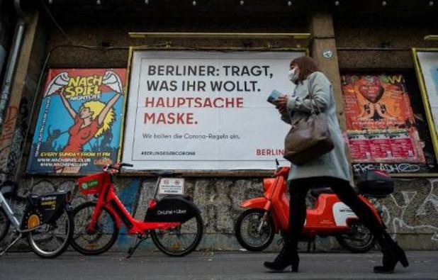 Berlijn sluit winkels en scholen in strijd tegen corona
