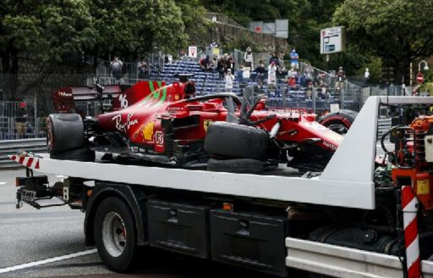 Charles Leclerc partira bien en pole position à Monaco