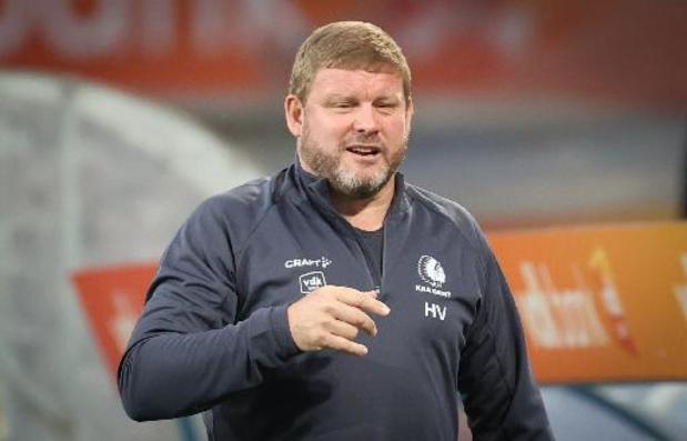 """Conference League - Vanhaezebrouck zet ploeg op scherp voor return en verwijst naar Remontada: """"Scherp zijn"""""""
