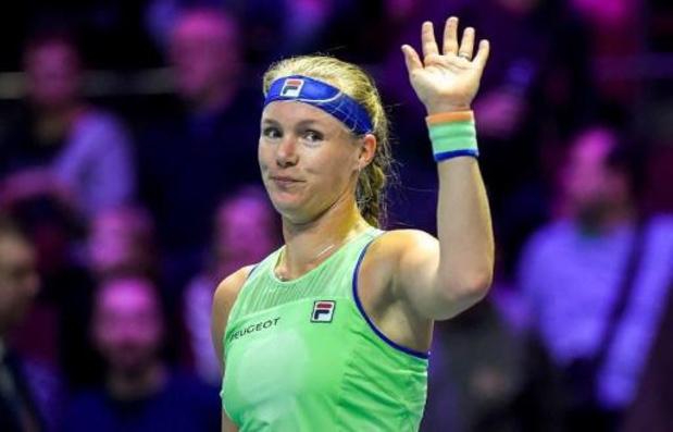 Forfait de la Néerlandaise Kiki Bertens, 7e joueuse mondiale