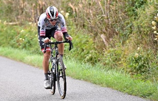 Patrick Konrad soleert naar zege in 16e etappe