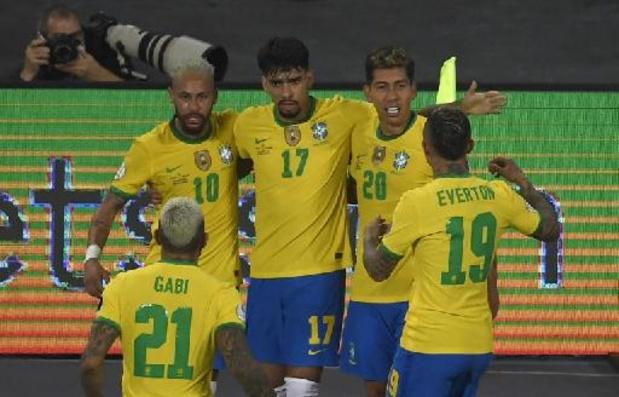 Brazilië boekt in blessuretijd controversiële zege tegen Colombia