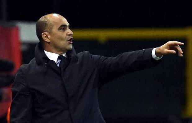 """""""Ce match est primordial pour faire de cette trêve une réussite"""", estime Roberto Martinez"""