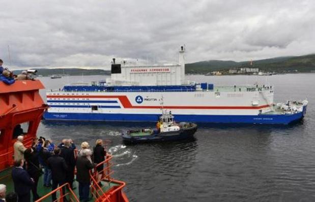 Russische drijvende kerncentrale ondanks kritiek in gebruik genomen