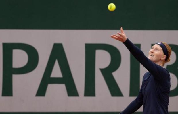 Roland Garros - Alison Van Uytvanck speelt donderdag haar tweede ronde