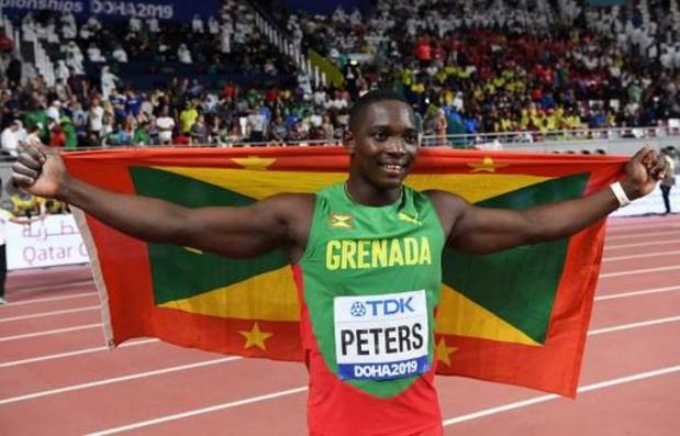 WK atletiek - Anderson Peters pakt goud in speerwerpen