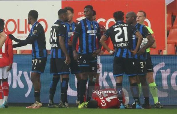 Club de Bruges: Odilon Kossounou risque deux matches de suspension
