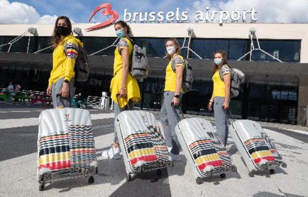 Les dix-huit premiers athlètes du Team Belgium s'envolent à destination de Tokyo