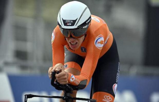 Ellen van Dijk remporte le prologue de Chimay, Jolien d'Hoore 3e