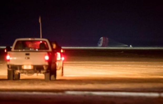Après une mission écourtée, la capsule de Boeing a atterri aux Etats-Unis