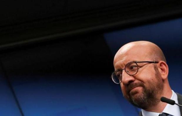 """""""La terreur n'a pas de place sur le territoire européen"""", réagit Charles Michel"""