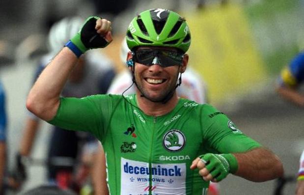 """Cavendish remercie son équipe: """"Je n'ai pas grand-chose à faire jusqu'aux 150 mètres"""""""