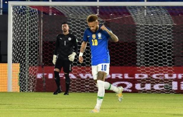 Brazilië behaalt zesde zege op rij