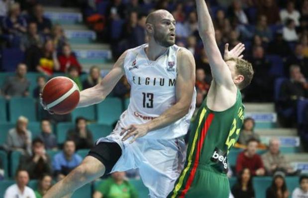 EK basket 2021 (m) - België maakt brandhout van Litouwen