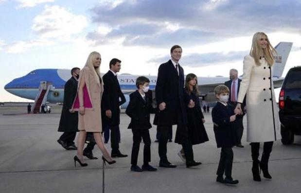 Ex-president Trump breidt bescherming naar al zijn kinderen uit