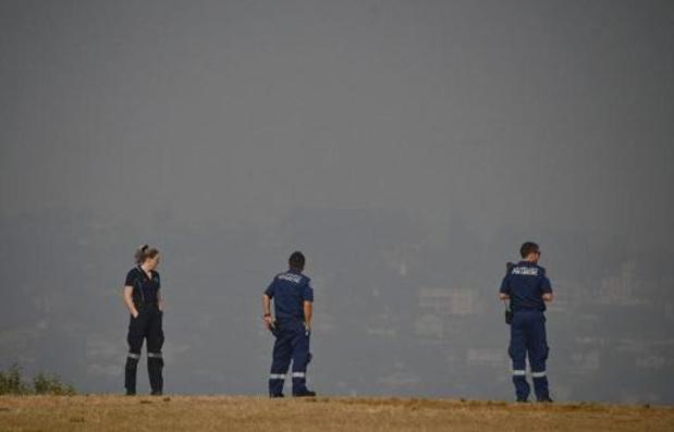 Sydney in rook gehuld
