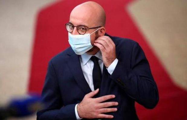 Charles Michel bepleit conferentie om Grieks-Turkse spanningen te ontzenuwen: 'Wortel en stok'