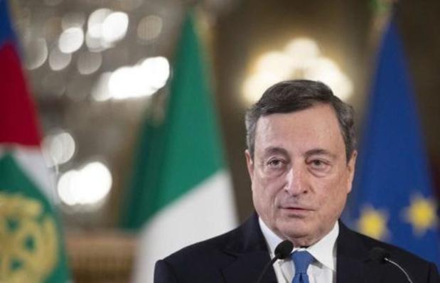 Italiaanse regering onder oud ECB-baas Mario Draghi komt stapje dichterbij