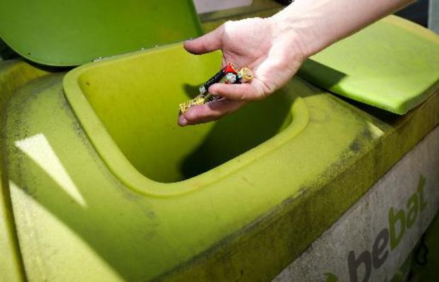 Les Belges ont collecté 3.357 tonnes de piles et batteries en 2020