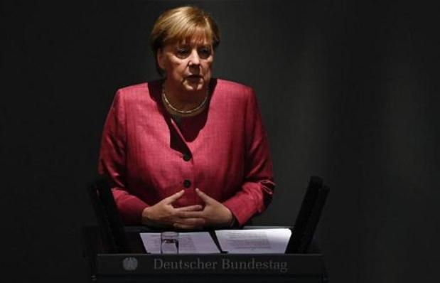 Merkel gaat oppositieleider Svetlana Tichanovskaja ontmoeten