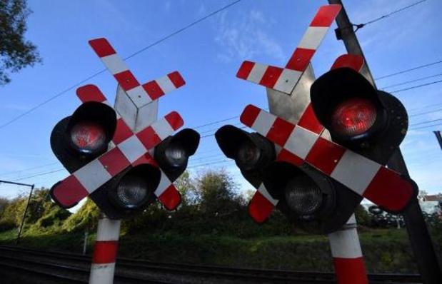 Sint controleert op spoorlopen in Buggenhout