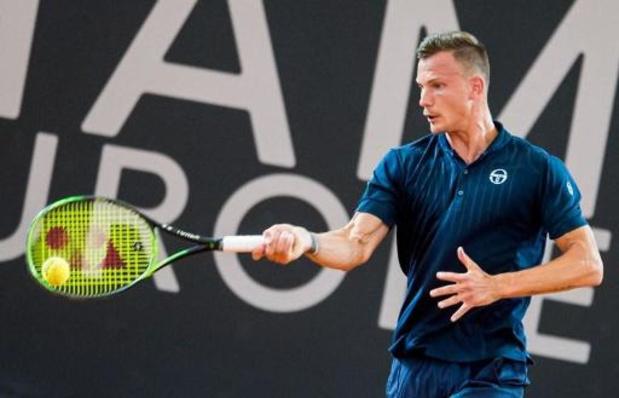 Davis Cup: België treft Hongarije in kwalificaties