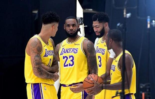 NBA : les Lakers dominent outrageusement Miami pour débuter la finale