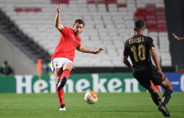 Benfica wil winnen bij Standard en groepszege pakken, stelt Jan Vertonghen