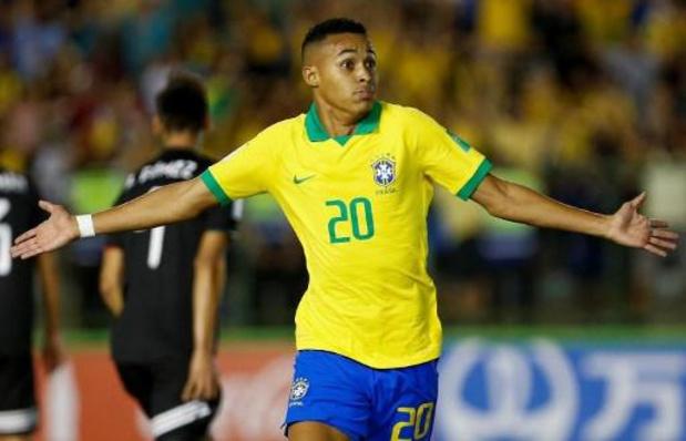 WK voetbal U17 - Brazilië verslaat Mexico in finale, Lazaro opnieuw matchwinnaar