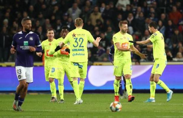Jupiler Pro League - Anderlecht geeft zege tegen AA Gent uit handen
