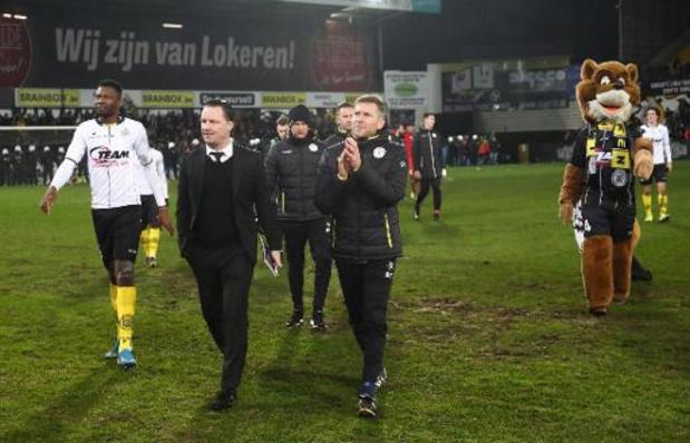 Le Sporting Lokeren a réglé ses dettes fédérales auprès de la fédération belge
